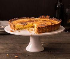 Tarte à la crème brûlée Earl Grey Tee, Low Carb Backen, Cake Calories, Caramel, Yummy Cakes, Deserts, Dessert Recipes, Sweets, Baking