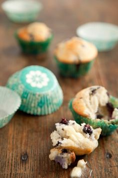 Paula Deen's Blueberry Muffins. Best muffin recipe I have found so far.  I'm going to repeat it and do chocolate chips and see how that goes!