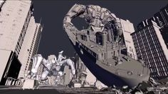 Making of Hong Kong Battle for Pacific Rim by ILMComputer Graphics & Digital Art Community for Artist: Job, Tutorial, Art, Concept Art, Portfolio