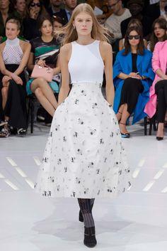 Christian Dior Spring 2015 Ready-to-Wear Fashion Show - Alexandra Elizabeth (Elite)
