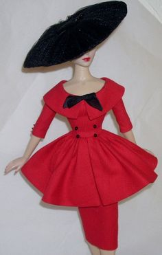 Afternoon Dress Set for 15 Gene Doll by boguesvogues on Etsy