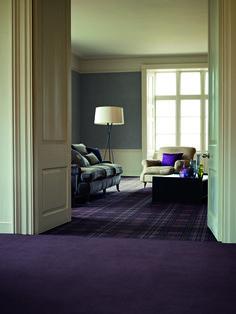 Brintons Majestic & Abbeyglen wool carpets  #carpets #wool #purple #york
