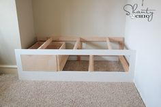 Built in day bed how to