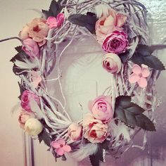Floral Wreath, Wreaths, Home Decor, Floral Crown, Decoration Home, Door Wreaths, Room Decor, Deco Mesh Wreaths, Home Interior Design