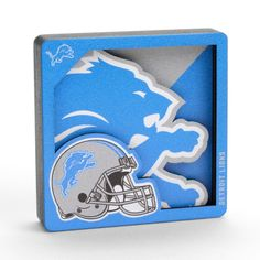 Detroit Lions Football, Team Schedule, Crayon Drawings, 3d Logo, Team Logo, Magnets, Layers, Surface, Fan