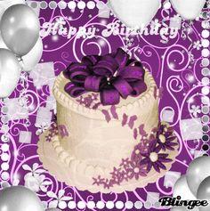 Happy Birthday Cake | Happy Birthday Picture #122055004 | Blingee.com