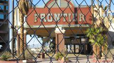 The old Frontier casino as part of Las Vegas, 2007 #travel #writing #blogging #usa #nevada #lasvegas