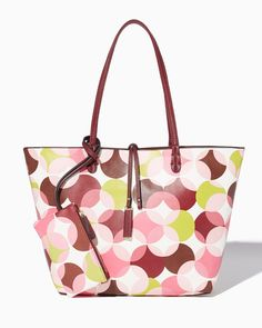 charming charlie   Mod Pop Two-in-One Tote   UPC: 410007658065 #charmingcharlie