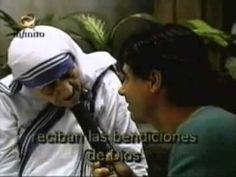 La Madre Teresa de Calcuta al final de su vida - YouTube