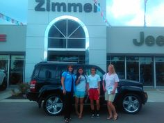 Here are Dana Tobben with her sister Morgan Williams and Dana's daughter Jessie Williams with sales consultant Deana Jones and Jessie's new 2011 Jeep Liberty Jet edition!  Jessie will be attending Auburn University this fall and will be safe, sound and snazzy with her Liberty!  :)   Jeep safety and smart styling is never a bad choice.  We thank you for coming to us for a dependable rig for Jessie!  Jeep made the Liberty and Zimmer makes the difference! www.zimmermotors.com