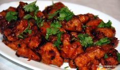Gobi manchurian Recipe Gobi manchurian is a famous Indian delicious fast food recipe. most of the people like to have it as evening snacks. this Gobi manchurian recipe is made up of cauliflower. actually This Gobi recipe is brought it from China in ancient days. so in some areas of India it is also called as Chines fast food recipe.