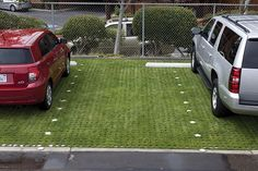 We are big fans and supporters of products like Drivable Grass from companies like Soil Retention Products, Inc. This product is great for making a building unique as well as helping to reduce runoff, erosion, and reradiating heat in urban areas. Its very cool stuff!