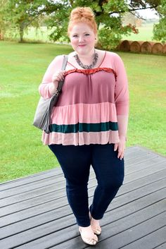 In today's post, I model and review three pretty in pink tops from Avenue to show you all the ways you can wear Rose Quartz this season.