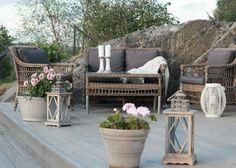 EKTE INTERIØR: Bilder fra terrassen!