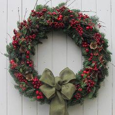Happy Hedgerow   Magical Christmas Wreaths