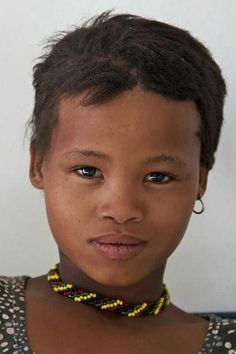 Modern day Khoi-San people... Check out the phenotype we think the Chinese of today created: SLANTY EYES--High CHEEK BONES... after CENTURIES of choosing a mate whom is lighter, the modern day Chinese became created...They are NOT INDIGENOUS to CHINA....!