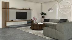 Obývačková nábytková zostava so zástenou Custom Furniture, Furniture Ideas, Flat Screen, Couch, Living Room, Home Decor, Bespoke Furniture, Blood Plasma, Settee
