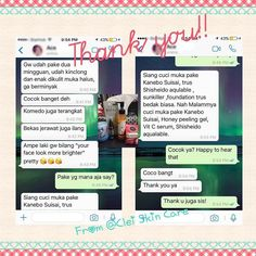Thanks to our loyal follower for the testimonial from using products from @clei_skin_care ! Happy to hear that you loved them as well as your loved one. #japaneseskincare  #perfectskin #skincare #skincareindonesia #skincaresingapore #produkjepang #produkkecantikan #japanproduct #cosmeticjepang #cleiskincare #brightskin #jualkosmetikjepang #tokokosmetikonline #jualkosmetikonline #jualprodukjepang #jualneckcream #jualfacialoil #jualsk2