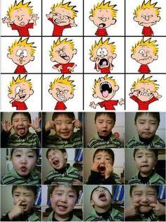 Calvin expressions