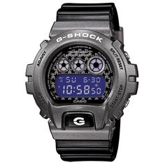 Casio G-Shock DW-6900SC-8ER 'Crazy Colour' Watch (Gunmetal)