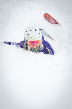 having fun on a powder day