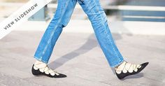 The Shoe Every Fashion Blogger Is Wearing via @PureWow via @PureWow