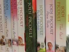 Jodi Picoult All of her books are amazing - must reads, cannot put them down once you start.
