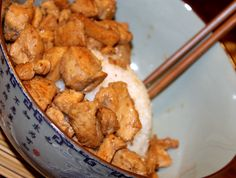 easy && delicious ginger chicken- you have to make it and wait for the flavors to come out. Soooooo AMAZING!