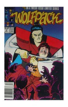 Wolfpack #5 (Dec 1988, Marvel) - FVF
