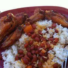 arroz blanco en arrocera puerto rico