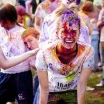 Color Run tips. This is my fitness goal.the Color Run next year. Color Run Tips, The Color Run, Color Race, Pilates, Okinawa, Popsugar, Half Marathon Training Schedule, Jogging, Stay In Shape