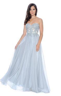 2ac5b48a46 Decode 1.8 A Line STRAPLESS Dress