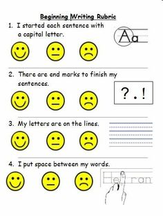 how to write assessment criteria