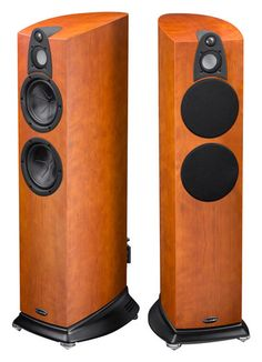High end audio audioohile Wharfedale Jade 5 3-way Cherry speakers