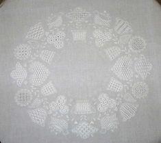 Schwalm Whitework Embroidery Tea Cloth