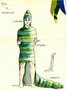 Image result for caterpillar costume alice in wonderland