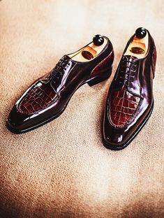 Best luxury leather crocodile shoes for sale
