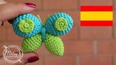 Mariposa a crochet | Amigurumi | MARYJ HANDMADE