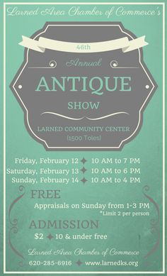 46th Annual Antique Show - Pawnee County, KS