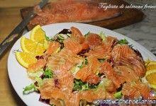 Tagliata di salmone fresco