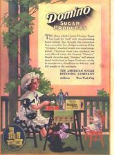 ad lot of 6 1913 ads domino sugar color girl doll cat 4 ad lot factory