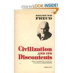 Civilization & Its Discontents - Freud