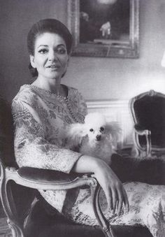 Maria Callas and pixie