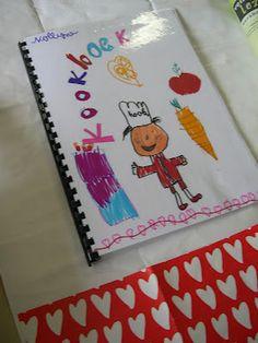 huisje tuintje dingetje: Moederdagcadeau maken met kinderen -> een kookboek