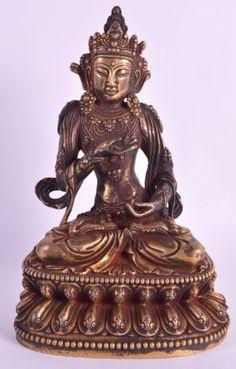 Buddha Sino Tibetano em bronze gilded a ouro do sec.19th, 24,5cm de altura, 53,550 EGP / 24,055 REAIS / 7,380 EUROS / 8,375 USD / 52,490 CHINESE YUAN https://www.facebook.com/SoulCariocaAntiques