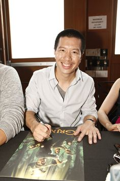 #Grimm's Reggie Lee smiles for the camera at Comic-Con!