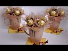подарки из конфет своими руками на день рождения - YouTube