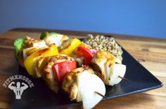Sweet&Spicy Chicken kabob