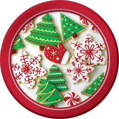 Christmas Cookies Galore – Glorious Treats from christmas sugar cookie decorating ideas Christmas Sugar Cookies, Christmas Sweets, Christmas Cooking, Noel Christmas, Holiday Cookies, Holiday Treats, Christmas Goodies, Homemade Christmas, Christmas Biscuits
