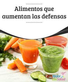 Alimentos que aumentan las defensas   En este artículo te contamos cuáles son los alimentos que aumentan las defensas. Tu sistema inmunitario estará bien protegido.